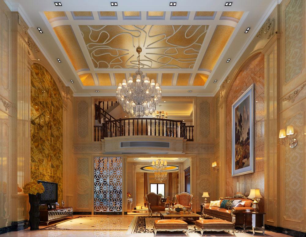 欧式建筑古典主义风格装修别墅装修