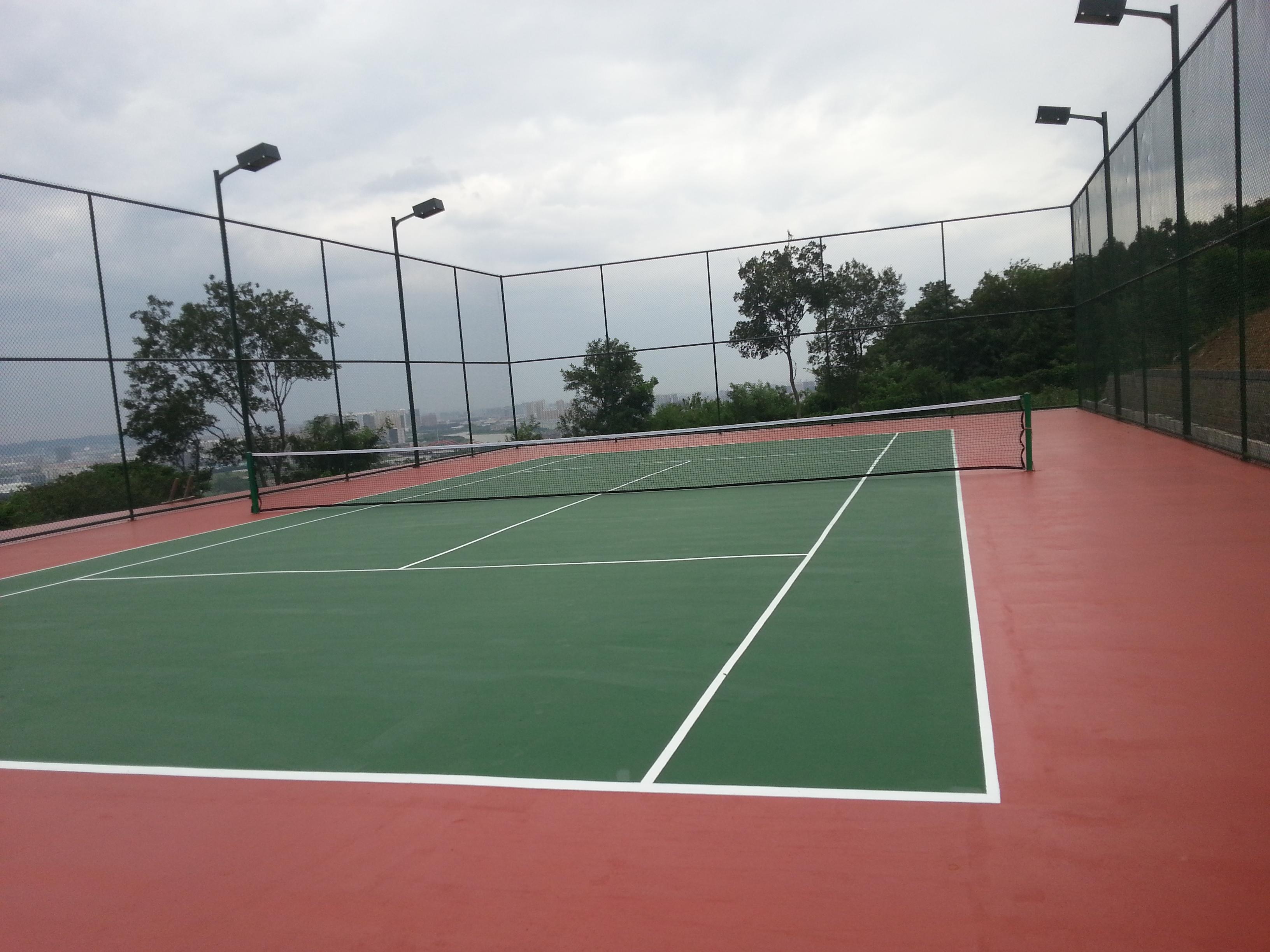 网球场装修